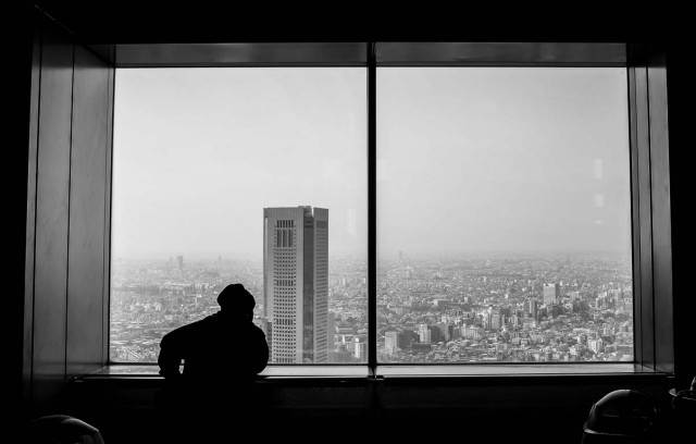 The view across Tokyo
